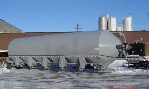 Dry-Bulk – 4000 cu.ft. – Steel Porta Bulk – single axle